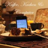 Marmorkuchen, Stein und iPhone bricht