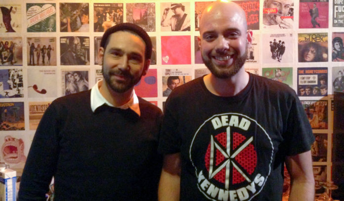 Marten (Turbostaat) & Arne (Ernst.FM)