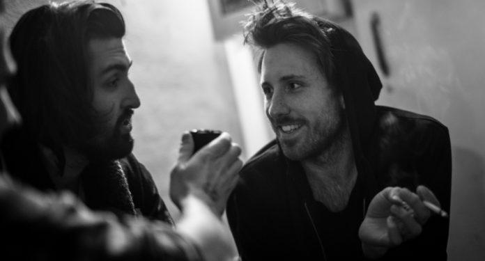 v.l.n.r.: Romeo Sfendules & Tim Hansen