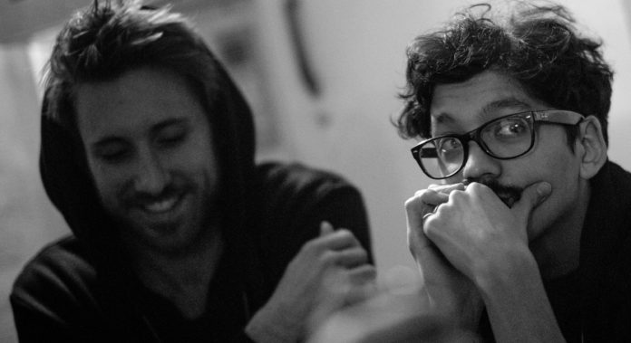 v.l.n.r.: Tim Hansen & Nico Cham
